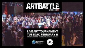 Art Battle Windsor - February 11, 2020 @ Walkerville Brewery | Windsor | Ontario | Canada