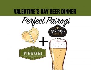 Perfect 'Pair'ogi Valentine's Day Beer Dinner @ Sandwich Brewing Co. | Windsor | Ontario | Canada