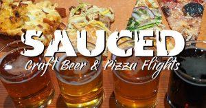 Sauced - Craft Beer & Pizza Flights @ Armando's Pizza Bar   Windsor   Ontario   Canada